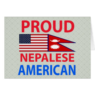 Proud Nepalese American Cards