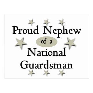 Proud Nephew of a National Guardsman Postcard