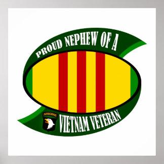 Proud Nephew - Vietnam Vet Poster
