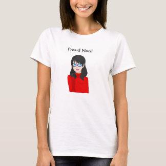 Proud Nerd T-shirt (Female version)