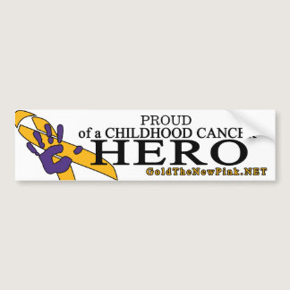 Proud - neuroblastoma bumper sticker
