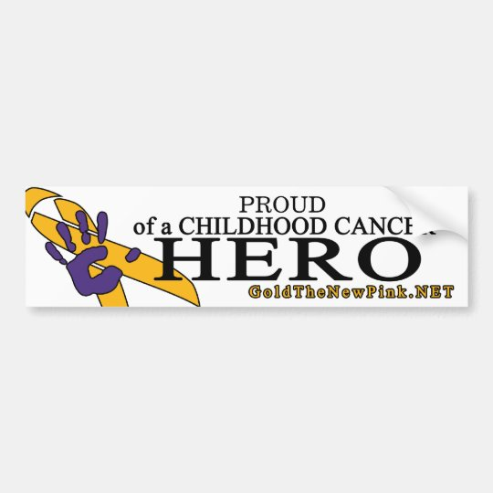 Proud - neuroblastoma bumper sticker