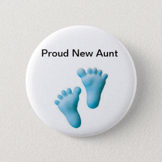 Proud New Aunt Button