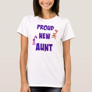 Proud New Aunt T-Shirt