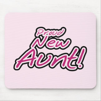 Proud New Aunt tshirts and Gifts Mouse Pad