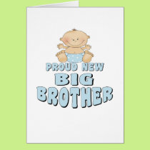 Proud New Big Brother Boy Card