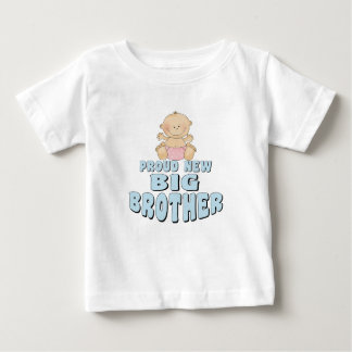 Proud New Big Brother Girl Baby T-Shirt