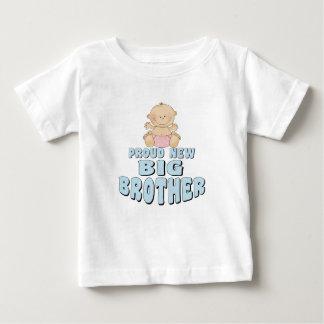Proud New Big Brother Girl Tee Shirt