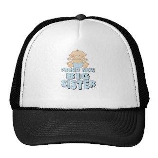 Proud New Big Sister Boy Trucker Hat