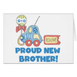 Proud New Brother-It's a Boy Card