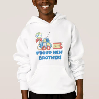 Proud New Brother-It's a Boy Hoodie