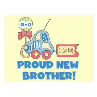 Proud New Brother-It's a Boy Postcard