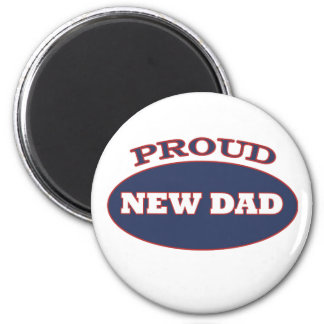 proud new dad magnet