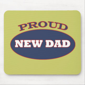 proud new dad mouse pad