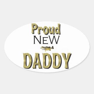 Proud New Daddy Sticker