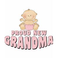 PROUD NEW Grandma T-Shirt shirt