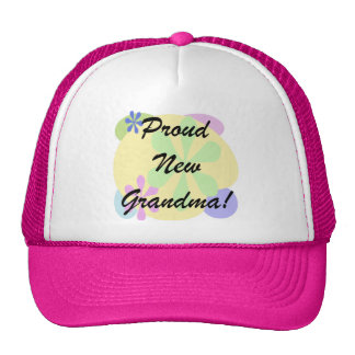 Proud New Grandma Trucker Hat