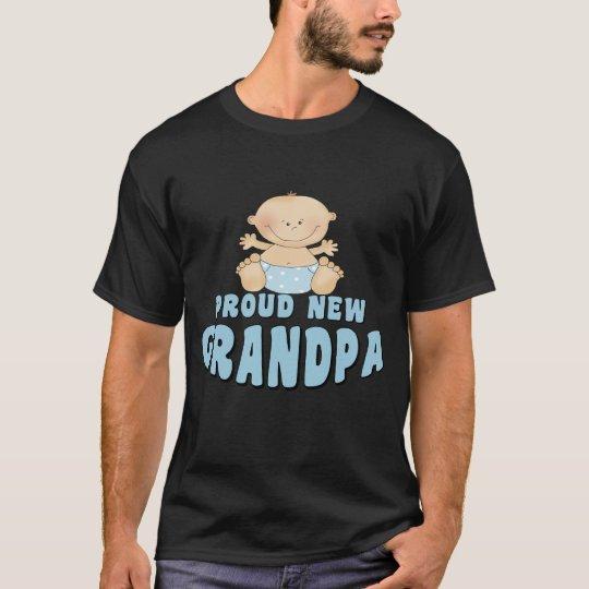 PROUD NEW Grandpa Boy T-Shirt