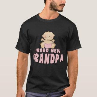 PROUD NEW Grandpa Girl T-Shirt