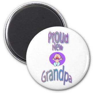 proud new grandpa magnets