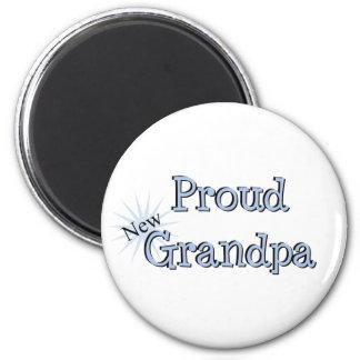 Proud New Grandpa Fridge Magnets