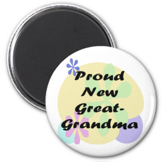 Proud New Great Grandma Magnet