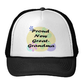 Proud New Great Grandma Trucker Hat