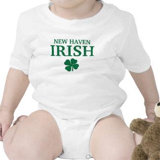 Proud NEW HAVEN IRISH! St Patrick's Day Bodysuit