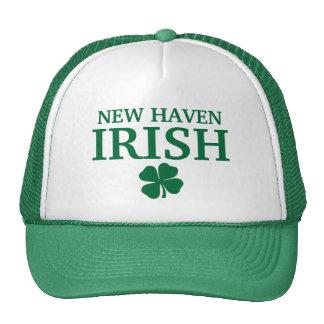 Proud NEW HAVEN IRISH! St Patrick's Day Mesh Hats
