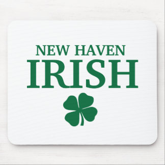 Proud NEW HAVEN IRISH! St Patrick's Day Mouse Pad
