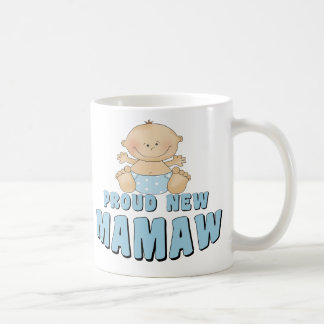 PROUD NEW Mamaw T-Shirt Coffee Mugs