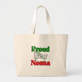 Proud New Nonna Large Tote Bag