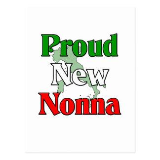 Proud New Nonna Postcard