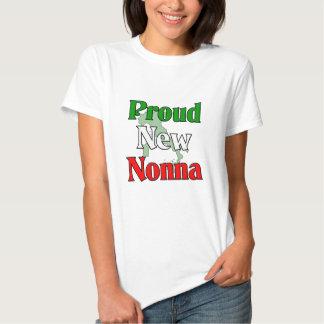 Proud New Nonna T-shirt