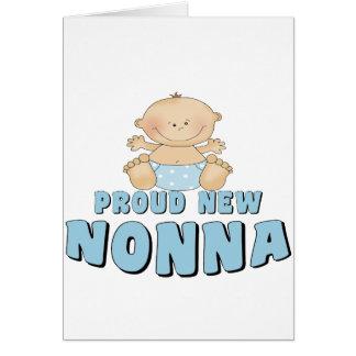 PROUD NEW Nonna T-Shirt Card