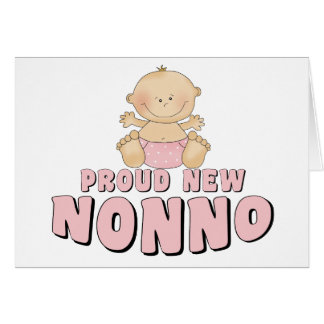 PROUD NEW Nonno Girl Card