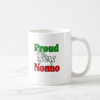 Proud New Nonno (Italian Grandfather) Classic White Coffee Mug