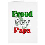 Proud New Papa Card