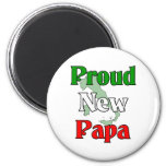Proud New Papa Fridge Magnets