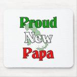 Proud New Papa Mouse Mat