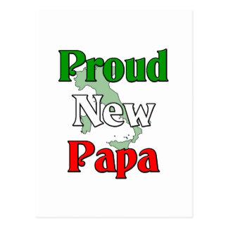 Proud New Papa Postcard
