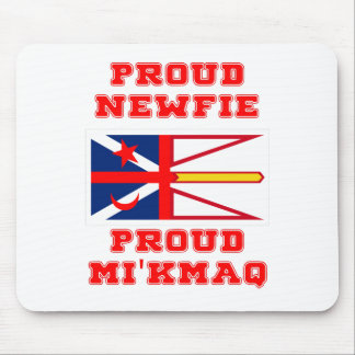 PROUD NEWFIE PROUD MI'KMAQ MOUSE PAD