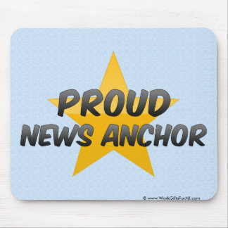 Proud News Anchor Mouse Pad