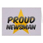 Proud Newsman Cards