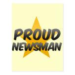 Proud Newsman Post Card