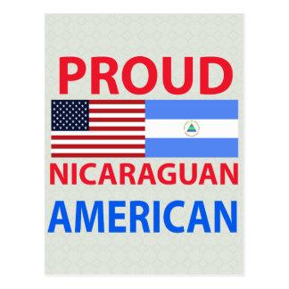 Proud Nicaraguan American Post Card
