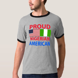 Proud Nigerian American Tshirt