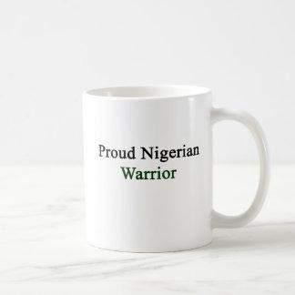 Proud Nigerian Warrior Basic White Mug