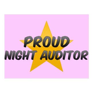 Proud Night Auditor Postcards