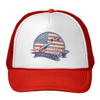 Proud Norwegian American Trucker Hat